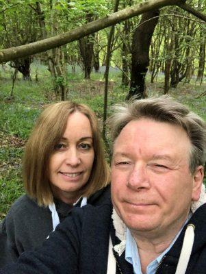 Louise Bates, Bill Bates, Hampton Wood, Bluebell walk